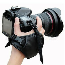 Fashion Camera Hand Wrist Grip Strap Belt Band for SLR DSLR Canon