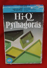 IDEAL!    HI Q PYTHAGORAS PUZZLE 1970s/80s ITEM!  ENTIRELY COMPLETE AND SOUND!