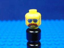 LEGO-MINIFIGURES SERIES 10] X 1 HEAD FOR THE MOTORCYCLE MECHANIC SERIES 10 PARTS