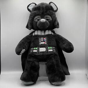 Build a Bear Workshop Darth Vader Star Wars Stuffed BAB Plush Disney Lucas Toy