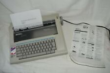 Smith Corona NA1HH Electric Typewriter Memory Correct With Manual Working