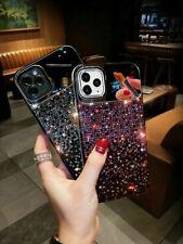 Diamond 3D Bling Spiegel Etui für iPhone 12 Mini 11 Pro Max X XR XS 8 Handyhülle