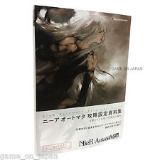 NieR Automata Guide and design Materials Illustrations Art book Japan