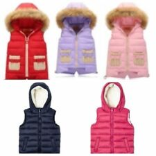 Unbranded Gilets & Bodywarmers Coats, Jackets & Snowsuits (2-16 Years) for Girls