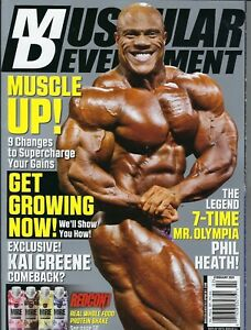 Muscular Development  February 2021  Phil Heath