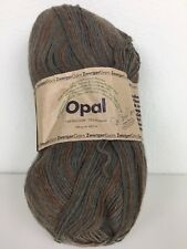Opal Sock Yarn Tutto Browns and Gray 464 YDS/3.5 OZ Wool / Polyamid