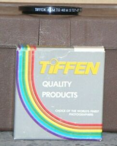 """Tiffen 46mm to 48mm Step Up Ring """"New Old Stock"""""""