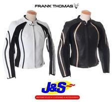 Blousons noirs coudes pour motocyclette, Taille 42