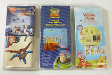 3 Winnie the Pooh Toy Story - Buzz Lightyear - Superman Peel & Stick Wall Decals