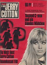 Jerry Cotton o.-Nr. Überformat 1970 Tausend G-Men und ein blondes Mädchen