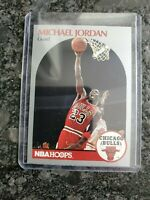 1990 NBA Hoops Michael Jordan Chicago Bulls #65 Basketball Card mint condition.