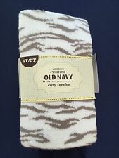 New Girls Old Navy Gray and White Cotton Tights Size 4t-5t