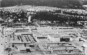 Community Center Western Housing Los Alamos 1950s RPPC Photo Postcard 20-6587