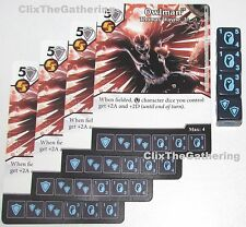 4x OWLMAN: THOMAS WAYNE JR 25/124 Batman Dice Masters DC