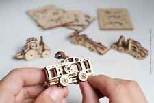 UGears - U-Fidget Vehicles - 3DWooden Puzzles/Mechanical Models/Propelled Model