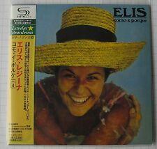 ELIS REGINA - Como & Porque + 4 BONUS JAPAN SHM MINI LP CD NEU RAR! UICY-94152