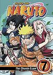 Naruto - Vol. 7: The Chunin Exam (DVD, 2006, Dubbed)