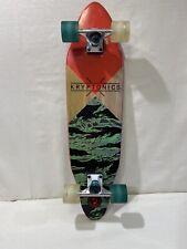 "kryptonics 30"" skateboard longboard - Light Use, Awesome Design"