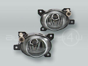 TYC Fog Lights Driving Lamps Assy with bulbs PAIR fits 2008-2010 SAAB 9-3