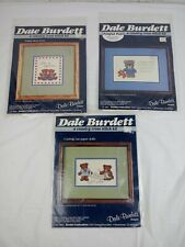 Dale Burdett A Country Cross Stitch & Embroidery Kit #CK165 CK166 CK313 Lot of 3