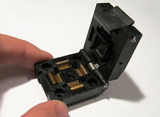 Yamaichi IC51-0644-807 Burn-In ZIF Test Socket 0.5mm Pitch 64 Pin QFP64 TQFP64
