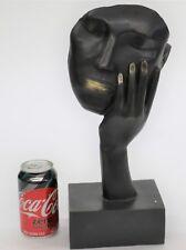 Salvador Dali Homage - Bronze Sculpture - Taking A Nap - 100 % Bronze Ltd Edtion