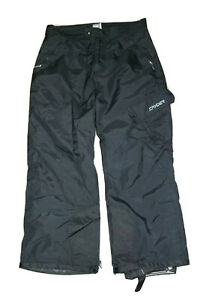 Spyder Mens Thinsulate Entrant Dermizax Snow/Ski Black Pants Size Medium