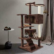 Cat Kitten Tree Cat Climbing Tower Toy Scratching Post Scratcher Activity Centre