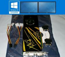 PNY Nvidia GeForce GTX 275 896MB DDR3 Dual DVI Display Win10 PCI-E Video Card