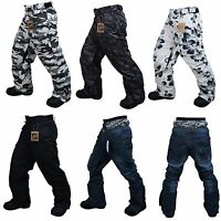 Unisex Winter Mens Ski Snowboard Pants Boarding Trousers S M L XL 2XL