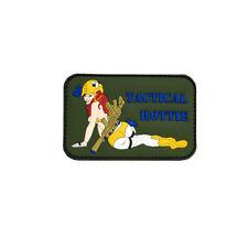 3D Rubber Tactical Hottie Patch Girl Army Gun Airsoft Alfashirt 6 x 9 cm #26980