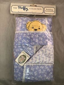 Vanderbear Muffy Collection Bedding Accessories Blue Bows NIP