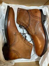 Frye Men's Corey Lace Up Ankle Boots, Cognac, SIZE 10 M