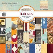 BoBunny Carnival Collection Scrapbook Paper Kit Bo Bunny new 12x12