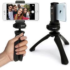 Mini Trípode de Mesa Mano Estabilizador + Universal Móvil Smartphones Soporte