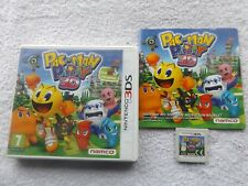 PAC-MAN PARTY 3D NINTENDO 3DS V.G.C. FAST POST ( complete with 38 page manual )