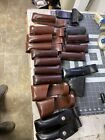 Vintage GOEC Smith & Wesson Hume Gould Triple K Leather Holster (of88