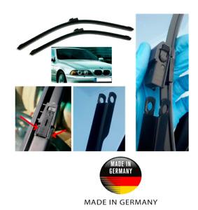 BMW 5 Series E39 Aerotech Wiper Blades made in Germany DE 550x650 or 22x26 BQ