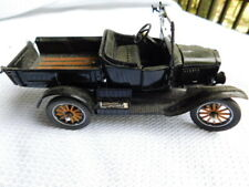 Danbury Mint Model T Ford 1925 Runabout car Truck Black 1:24 Die Cast Metal