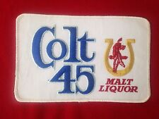 Lg. Vintage Colt 45 Beer Patch