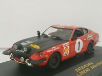 1/43 DATSUN 240Z MEHTA SAFARI 1973 IXO RALLY CAR COCHE ESCALA SCALE DIECAST