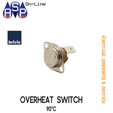 BRIVIS 90° Deg OVERHEAT SWITCH FOR DUCTED HEATERS - PART# B009361