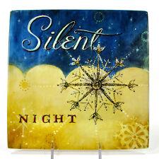 "Oneida SEASONS GREETINGS SILENT NIGHT 8"" Plate Angela Staehling Christmas"