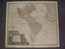 New ListingNorth & South America Map by Homann 1746