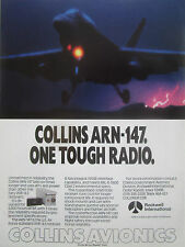 8/1990 PUB ROCKWELL COLLINS AVIONICS ARN-147 USAF VOR/ILS RECEIVER F-18 AD