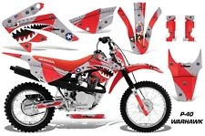 AMR Racing Honda Graphic Kit Bike Decal CRF 80/100 Decal MX Part 11-15 WARHAWK R