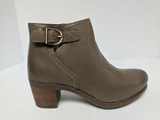 Dansko Henley Ankle Boots, Taupe Burnished Calf, Womens 7.5-8 M (EU 38)