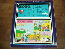BOZO LE CLOWN/ OUM LE DAUPHIN BLANC- Disque BD volume 4- LP/25cm
