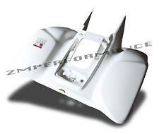NEW HONDA TRX 400EX 99 - 07 WHITE REAR FENDER PLASTIC TRX400EX PLASTICS