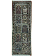 modern farmhouse runner rug Multi 2 x 6 Bakhtiari Rug All-Over Garden Design